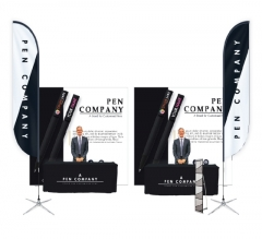 Premium 20ft Booth Package